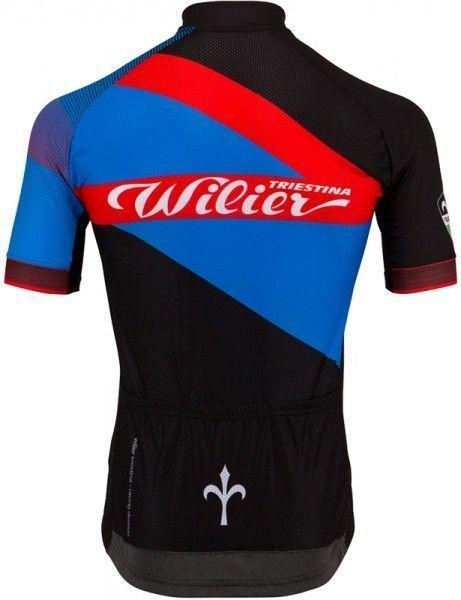 Wilier Spark Radtrikot schwarz/blau 2