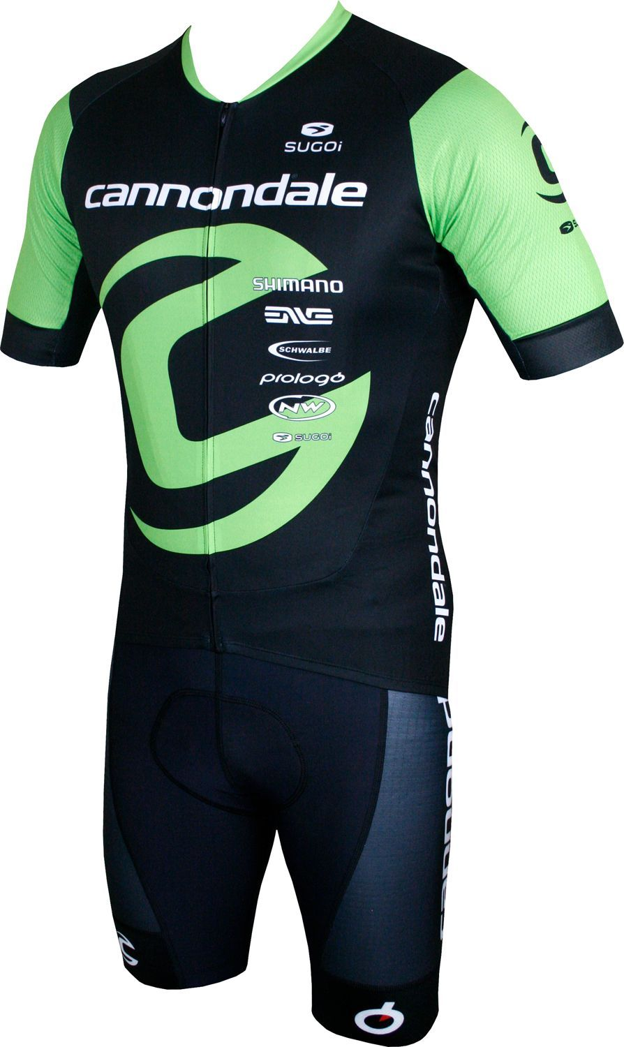 Cannondale FACTORY RACING 2018 cycling bib shorts - Sugoi professional cycling  team. Next 98f18465d