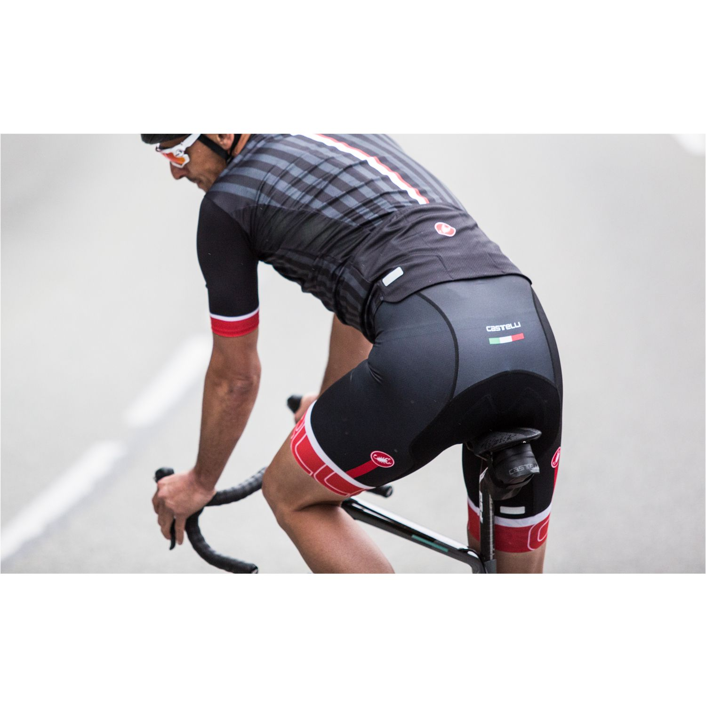 Castelli PODIO DOPPIO - short sleeve cycling jersey black. Next 8e4b3f19c