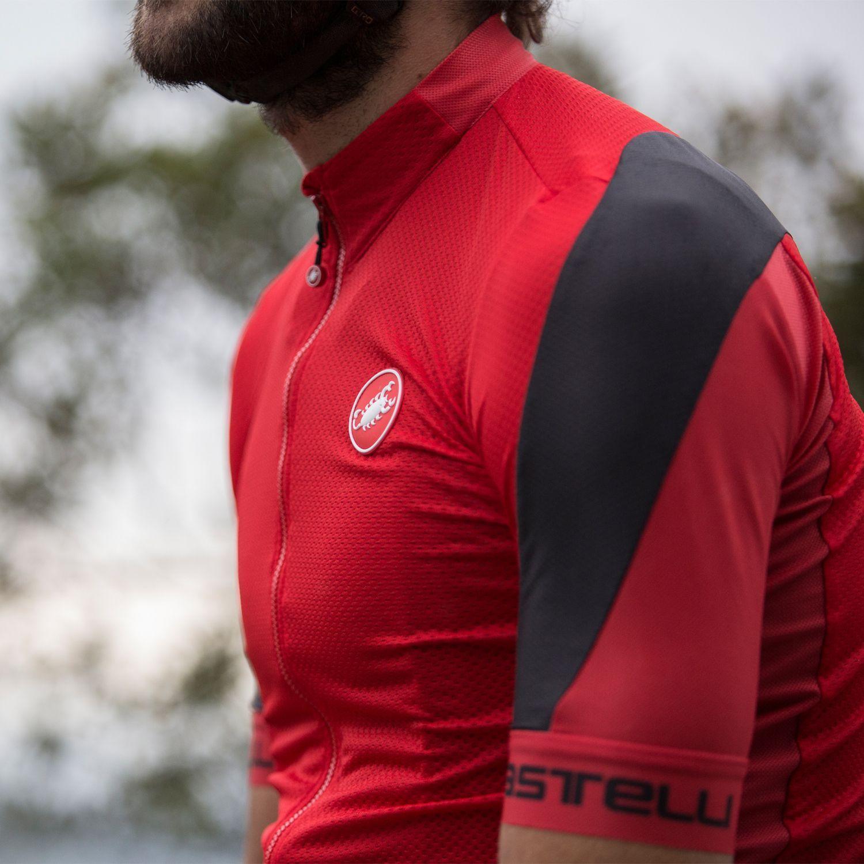 1174b949f Castelli VOLATA 2 - short sleeve cycling jersey red. Next