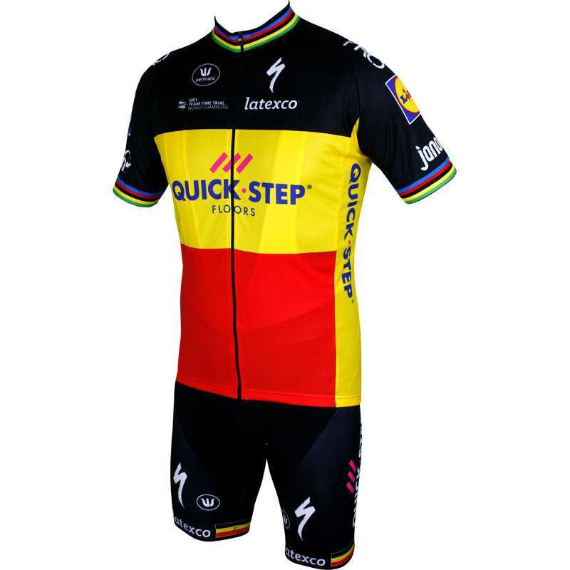 Trikotexpress quick step floors belgian champ 16 17 for Quick step floors cycling team