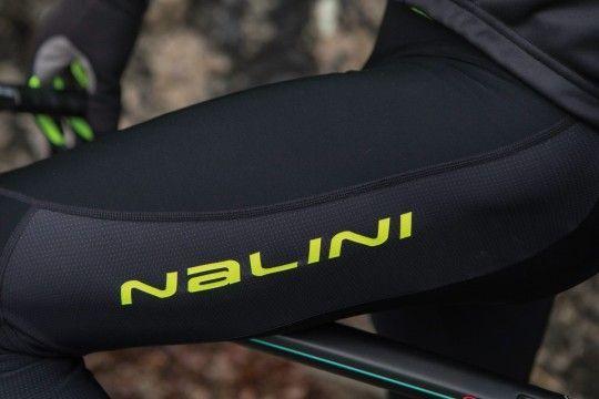 Nalini PRO Logo Bib Tight Trägerhose lang schwarz/gelb (I18-4050)