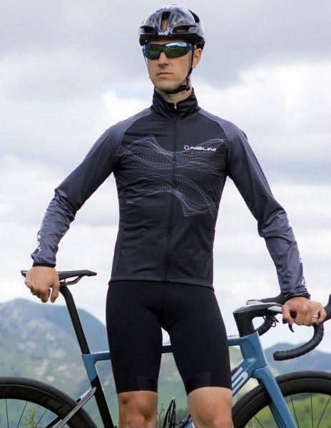 Actionbild2 Nalini Eco Wind Jacket Fahrrad Windjacke schwarz