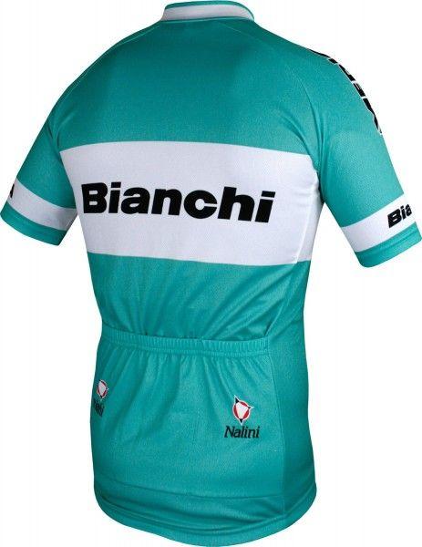 Bianchi 2003 Kurzarmtrikot langer Reißverschluss 4