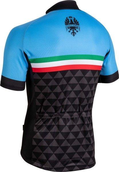 Bianchi Milano CODIGORO Radtrikot kurzarm blau 2