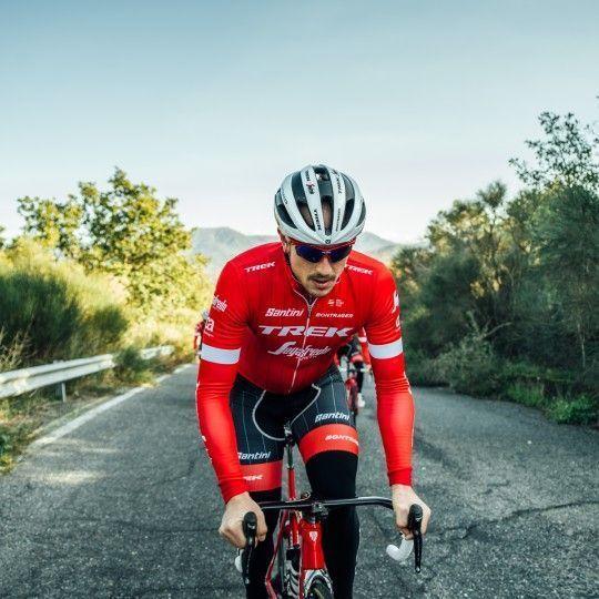 Trek - Segafredo 2018 Fahrradhelm weiß 4