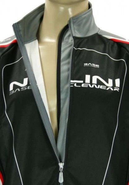 CALCE schwarz - Radsport-Jacke (Winterjacke) - Nalini CLASSIC Radsportbekleidung