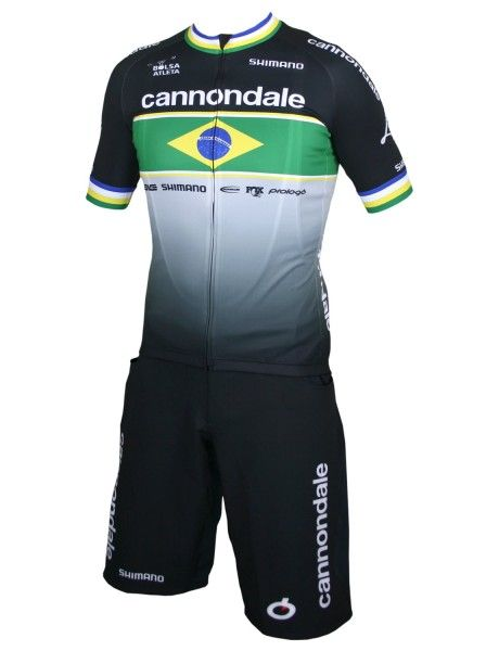 Cannondale Factory Race brasilianischer Meister 2020 Set Short