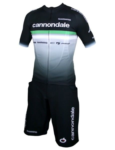 Cannondale FACTORY RACING 2020 Set Bike Shorts + Trikot schwarz