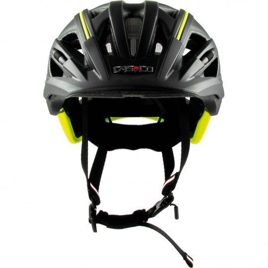Casco ACTIV 2 Fahrradhelm schwarz/neongelb 3
