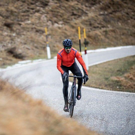 Castelli alpha RoS 2 light Fahrradjacke rot 4
