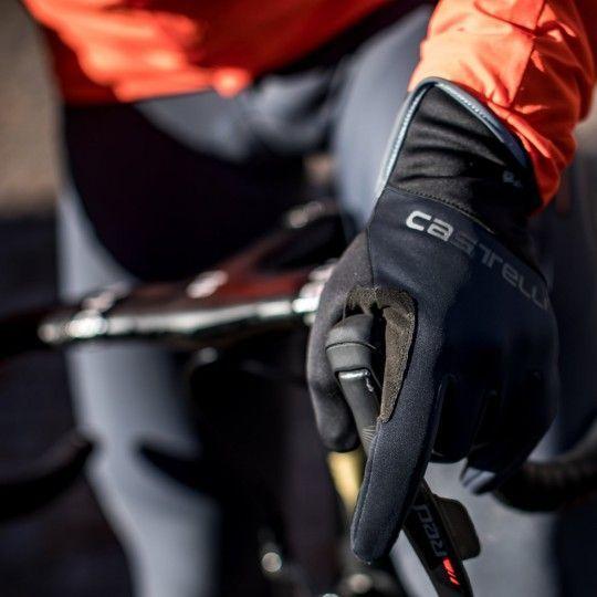 Castelli SCALDA PRO Fahrradhandschuhe langfinger schwarz