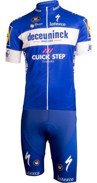 Deceuninck-Quick-Step 2019 Radtrikot kurzarm (langer Reißverschluss) - Vermarc Radsport-Profi-Team Größe S (2)