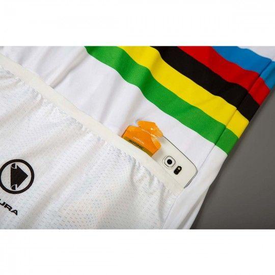 Movistar 2019 Weltmeister Radtrikot kurzarm 4