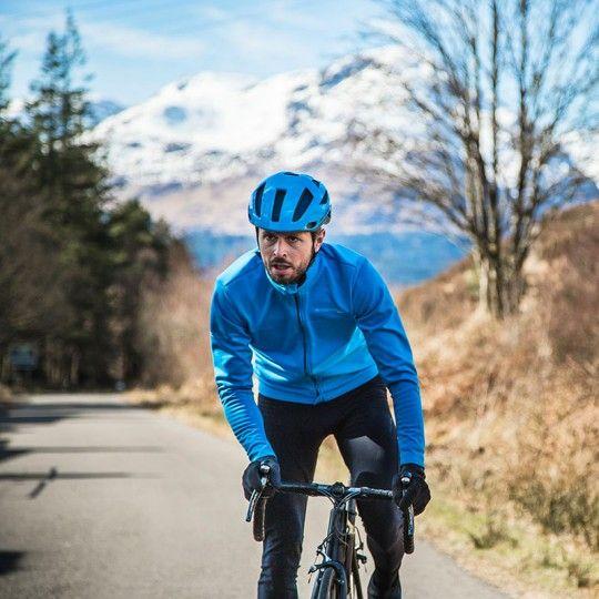 Endura PRO SL THERMO Fahrrad Winterjacke blau 4