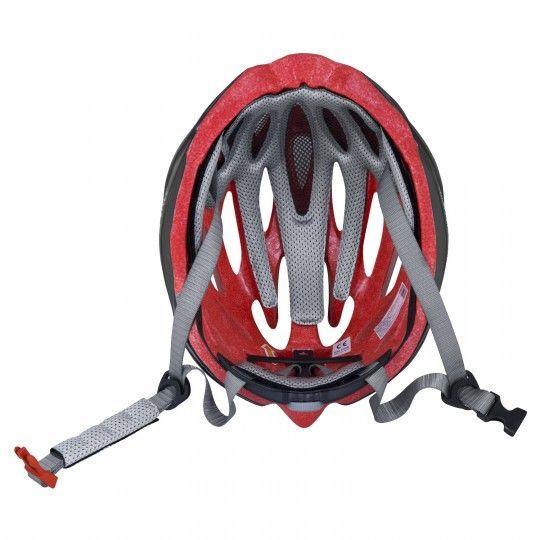 Force BAT Fahrradhelm schwarz/rot 4