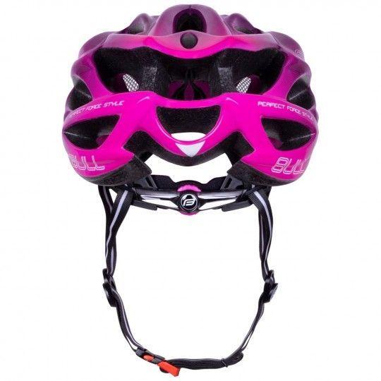 Force BULL HUE Fahrradhelm schwarz/pink 4
