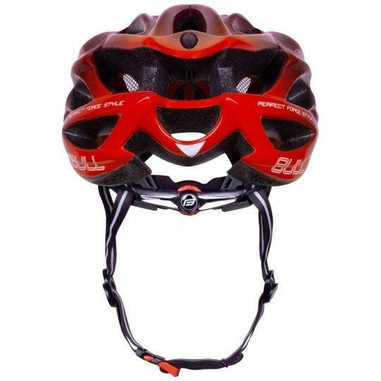 Force BULL HUE Fahrradhelm schwarz/rot 4