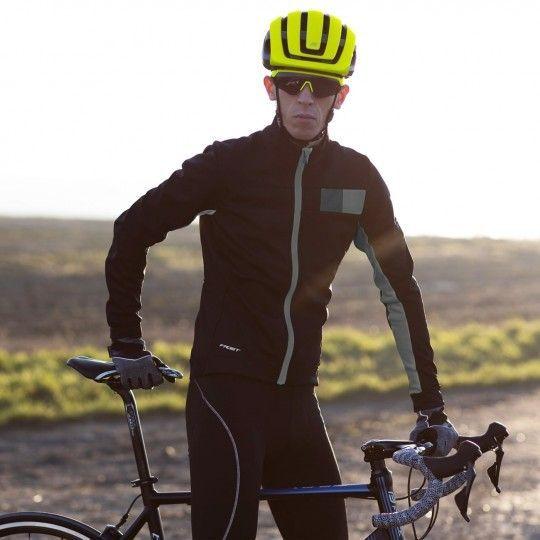 Force FROST Softshell Fahrradjacke schwarz/grau 3