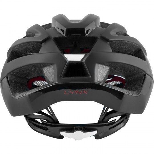 Force LYNX Fahrradhelm schwarz matt glänzend 4