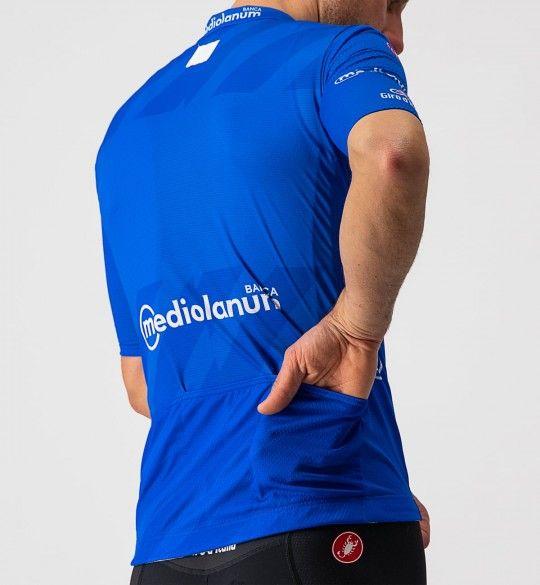 Giro d'Italia 2021 MAGLIA AZZURRO (Blau) Radtrikot kurzarm 4
