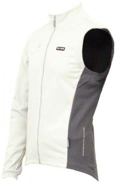 Nalini Base Radsport Jacke/Weste CORNALINA eisbärweiß Größe XL (5)