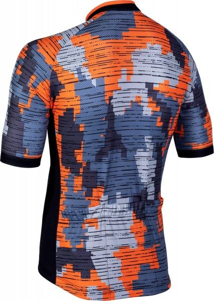 Nalini CROSS 2.0 Radtrikot kurzarm orange/grau 2