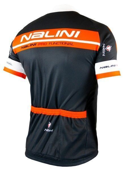 Nalini KENTY Radtrikot kurzarm anthrazit/orange 2
