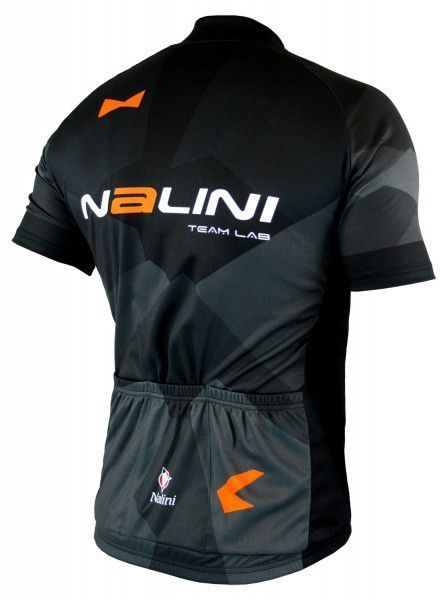 Nalini KRYPTONY Radtrikot kurzarm schwarz/orange 2