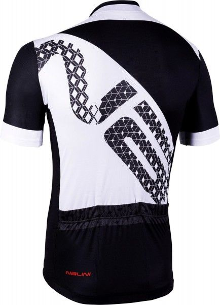 Nalini VITTORIA 2.0 short sleeve cycling jersey white/black (E19-4020)