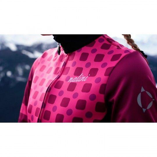 Nalini WS Lady Jkt 2.0 Fahrrad Damen Winterjacke pink/schwarz 4