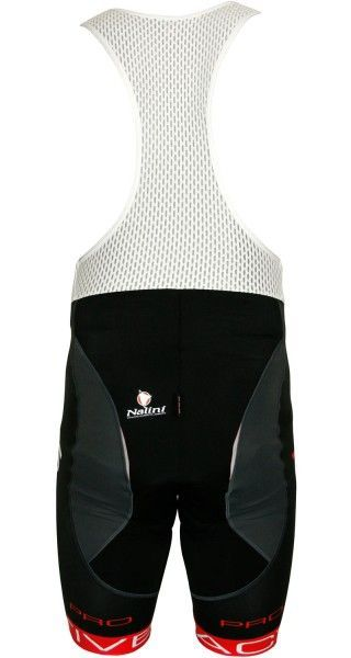 Nalini Pro Zubene1 STP trägerhose schwarz/rot 4