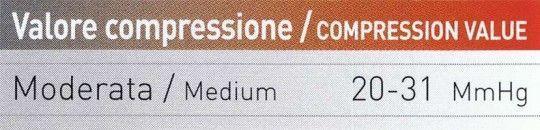 Nalini DEVIL Kompressions-Wadenstulpen weiß 4