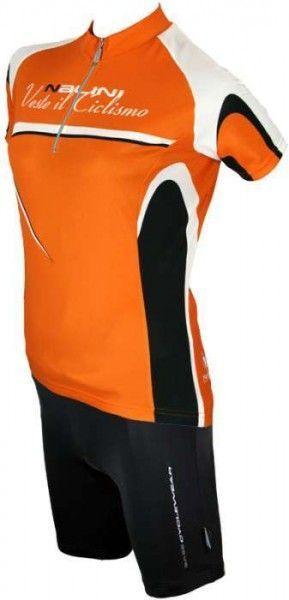 Sassolite orange - Nalini BASE Damentrikot mit kurzen Ärmeln