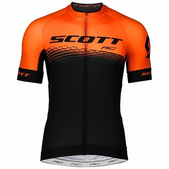Scott RC PRO Radtrikot schwarz/orange 1