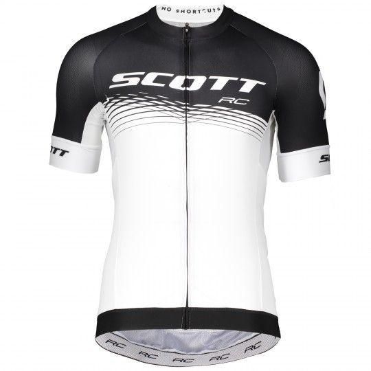 Scott RC PRO Radtrikot schwarz/weiß 1