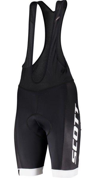 Scott RC TEAM Trägerhose weiß schwarz 1