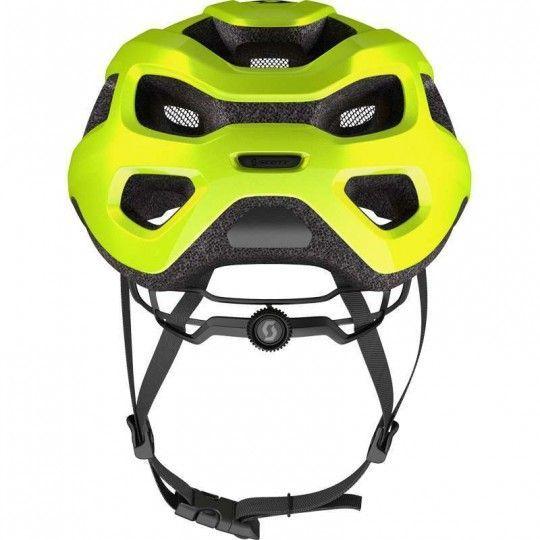 Scott SUPRA Fahrradhelm neon gelb 4