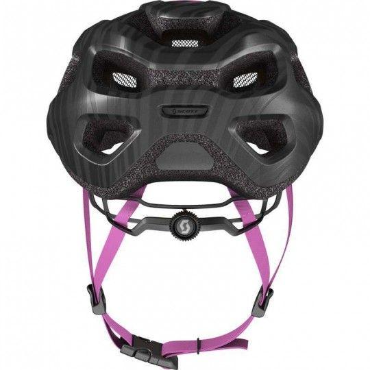 Scott SUPRA Fahrradhelm Damen schwarz lila 4