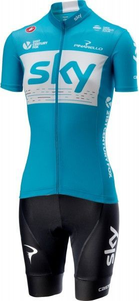 Team Sky 2018 Fan Training edition Damen Set 1
