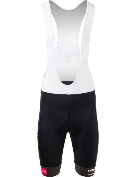 Set de ciclismo (maillot manga corta + culotte corto) del equipo TEAM JUMBO - VISMA 2021 - AGU