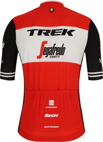 Trek - Segafredo 2019 Radtrikot kurzarm rot 3