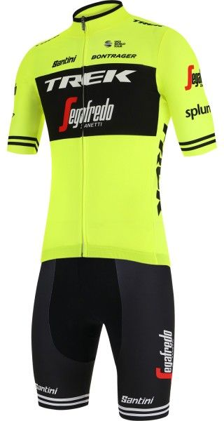 Trek - Segafredo 2019 training edition Radspor-Set gelb