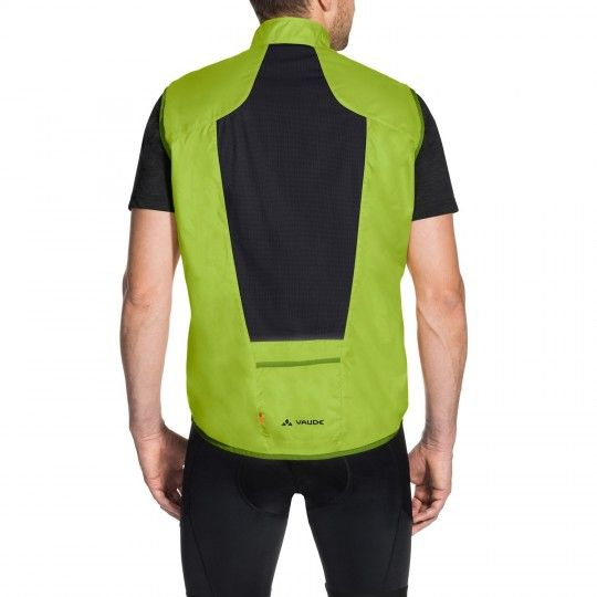 Vaude Men AIR VEST III Windweste grün 4