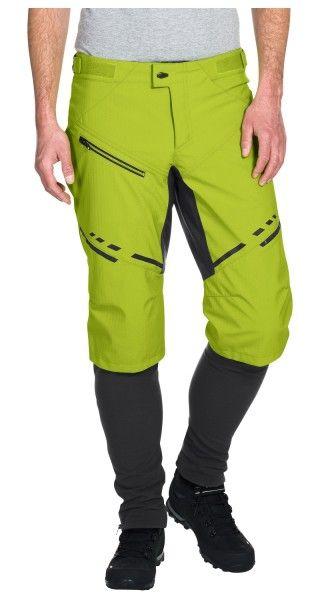 Vaude VIRT Softshell Pants II Radhose lang chute green 4