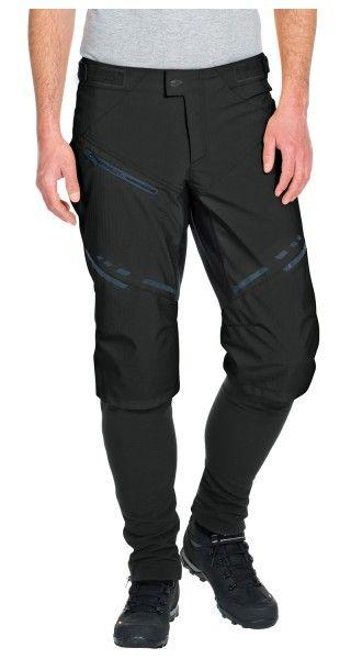 Vaude VIRT Softshell Pants II Radhose lang schwarz 4