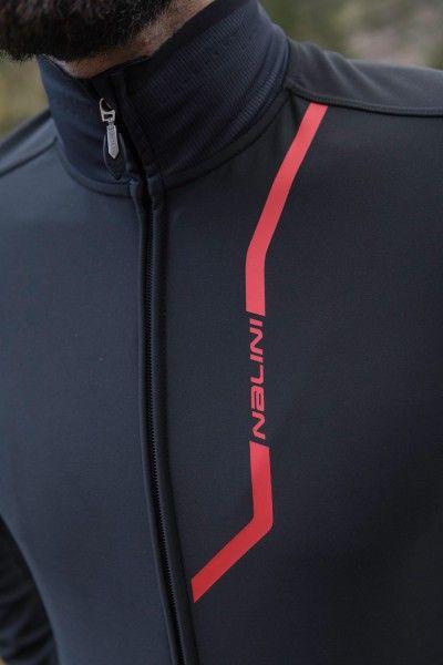 Nalini PRO Pro Gara Jkt Fahrrad Winterjacke schwarz/rot (I18-4000) Größe M (3)