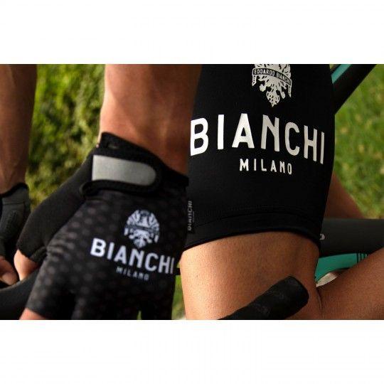 Actionbild 2 Bianchi Milano LEGEND Trägerhose kurz schwarz