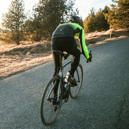 Alé SUMMIT Fahrrad Winterjacke schwarz/neongelb 5