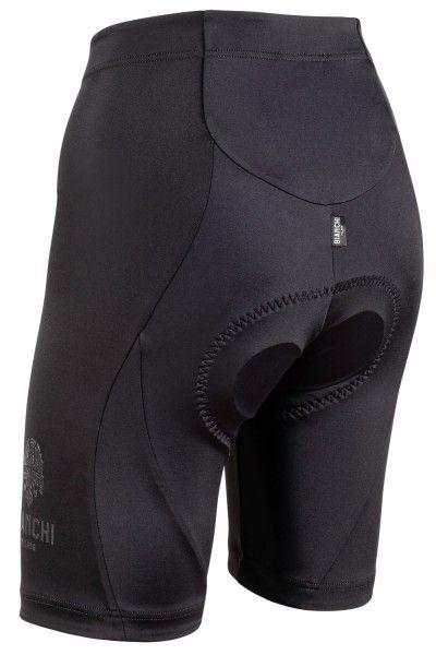 Set de ciclismo Mujer (maillot de manga corta ALTANA + culotte OTTAVA, naranja/negro) - Bianchi Milano (E20)